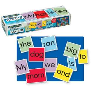 Patch Products Sight Words Wall Pocket Chart Card Set