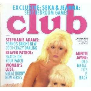 CLUB MAY 1988 SEKA: CLUB MAGAZINE: Books