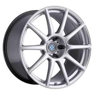 17x9 Beyern Bavaria (Hyper Silver) Wheels/Rims 5x120 (1790BRV205120S72