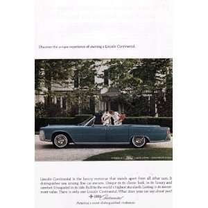 Vintage Ad   1960s (Ford Motor Company) # 202