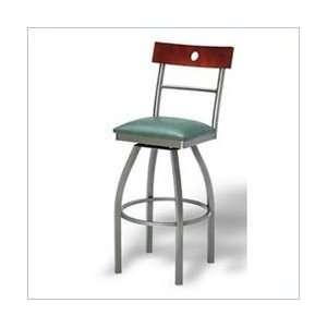 Vinyl   Naugahyde Paprika Grand Rapids Chair Sydney 30 High Swivel