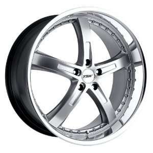 Silver w/ Mirror Lip) Wheels/Rims 5x112 (1780JAR325112S72) Automotive