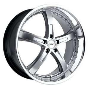 Silver w/ Mirror Lip) Wheels/Rims 5x112 (1780JAR325112S72) Automotive