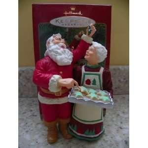 Hallmark 2001 Santa Sneaks a Sweet Christmas Ornament