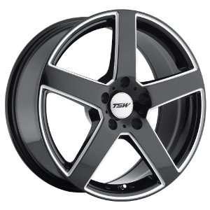 (Gloss Black w/ Milled Spokes) Wheels/Rims 5x112 (2010RIV425112B72