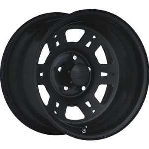 Black Rock Lobo 16x10 Black Wheel / Rim 8x6.5 with a  34mm