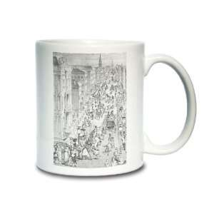 Fifth Avenue, New York City, 1858, Coffee Mug