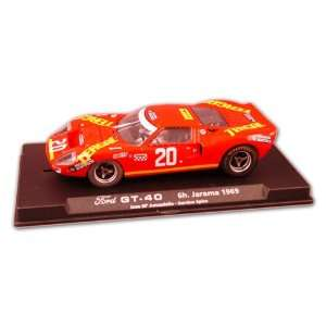 com Fly 132 Slot Car Tergal Ford GT40 6h. Jarama 1969 Toys & Games