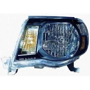 Depo 312 1186P US2 Toyota Tacoma Headlight with Black