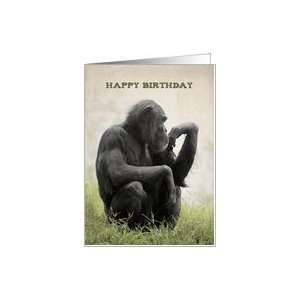 Monkey   Happy Birthday Card: Health & Personal Care