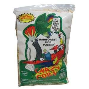 Crazy Corn Cooked Bird Food   Rainforest Rice 3 Lbs.: Pet