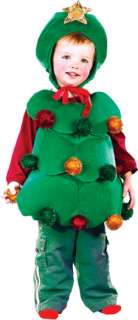 Christmas Tree Toddler Holiday Costume boy girl 1 2T
