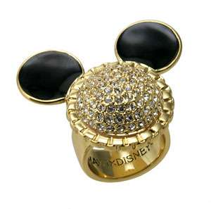 Disney Couture MINNIE x MAWI Crystal Head Ring Limited Edition