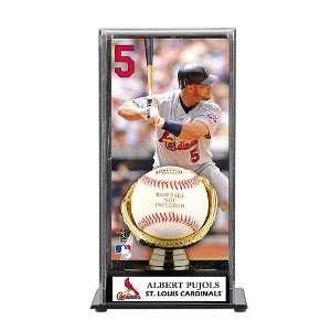 Mounted Memories St. Louis Cardinals Albert Pujols Baseball Display