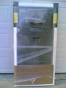 BRAND NEW Nice White VINYL Double Hung WINDOW 28x54