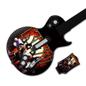 MS KISS10026 Guitar Hero Les Paul  Xbox 360 & PS3  KISS  Love Gun Skin