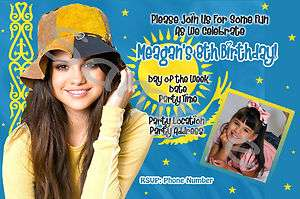Wizards of Waverly Place Selena Gomez Birthday Invitations & Party