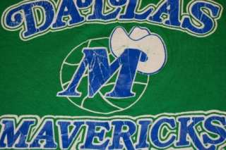 vtg dallas mavericks very soft t shirt small/medium