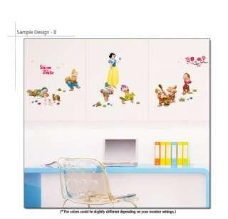 DISNEY PRINCESS SNOW WHITE Wall Decor Sticker Decal Kid
