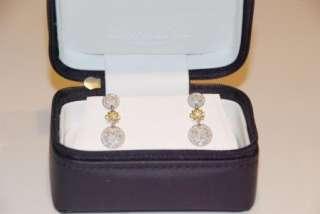SALE: 50% OFF New $2275 Charriol 18K White/Yellow Gold & Diamond