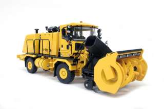Truck w/ Snow Blower & Snow Plow YELLOW 1/50   TWH #072 01055