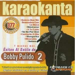 Karaokanta KAR 4377   Al Estilo de Bobby Pulido   II