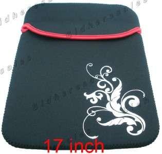 Black Soft Sleeve Case Bag Laptop Notebook 17 inch