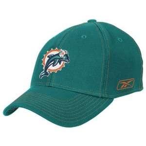 Reebok Miami Dolphins Aqua Structured Flex Hat Sports