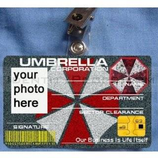 Umbrella Corporation UBCS ID Cards Badge Resident Evil Custom