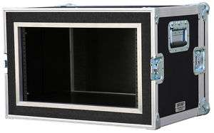 10 space ATA SHOCK RACK CASE 10U SHOCK MOUNT 14 deep