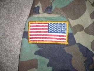 Military BDU Shirt Vietnam US ARMY USAF Large Regular Men Boys Work