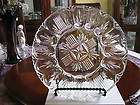Fostoria American Crystal Clear Glass Deviled Egg Plate