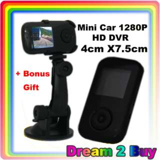 Ultra Small Mini 1280P Car HD DVR Camera Video Recorder for Road Safty