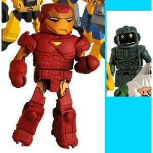 Minimates Series 32 Mini Figure 2Pack Extremis Iron Man Titanium Man