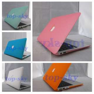 Royal Blue Rubberized Hard Case Cover For Macbook Air 13/13.3 Fast