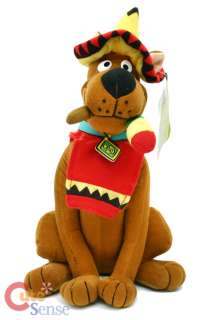 Scooby Doo Plush Doll FigureFiesta Festival  14in