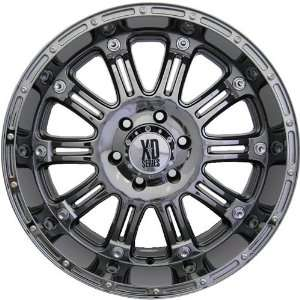 XD XD795 18x9 Black Chrome Wheel / Rim 6x5.5 with a 18mm Offset and a