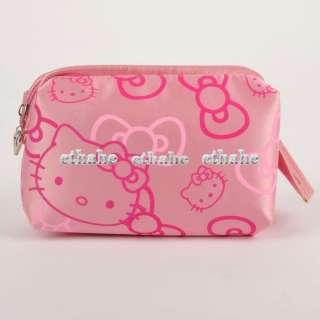 HelloKitty Cosmetic Case Makeup Travel Bag Pink E1GENJ