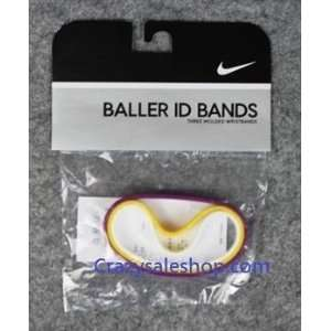 Nike baller id bands for adult Kobe (Lakers color) Purple