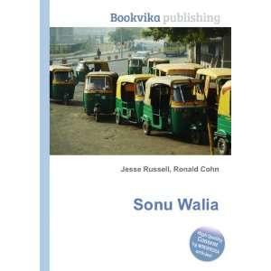 Sonu Walia Ronald Cohn Jesse Russell Books