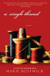 NOBLE  A Single Thread (Cobbled Quilt Series #1) by Marie Bostwick