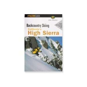 Backcountry Skiing Californias High Sierra Book Sports
