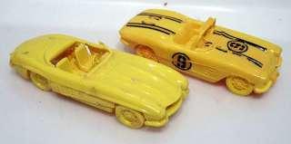 1950s Model Kits CORVETTE & MERCEDES BENZ Race Cars