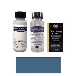 1 Oz. Medium Shadow Blue Metallic Paint Bottle Kit for