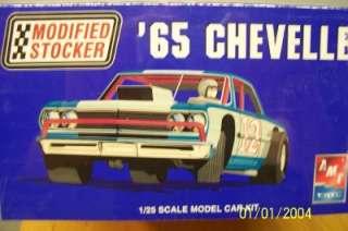 AMT Model kit 21651P 1965 CHEVELLE MODIFIED STOCKER