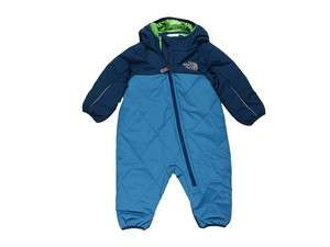 NWT North Face Insulated Baby Boys Blue Bunting 3 6m