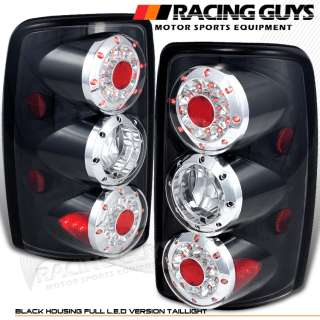 00 06 CHEVROLET TAHOE GMC SUBURBAN BLACK LED TAIL LIGHT