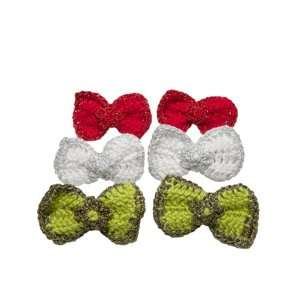 Hair Clips for Baby Girls and Kid Girls   Green / Red / White Beauty