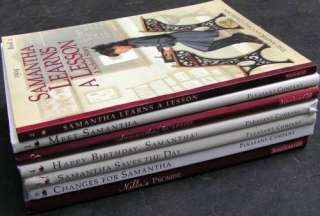 Lot 7 RETIRED American Girl Doll Books SAMANTHA Rare HARDCOVER