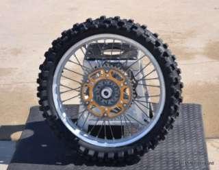 2001 2008 Yamaha YZ450F YZ250F YZ250 YZ125 Back Rear Wheel Tire Rim